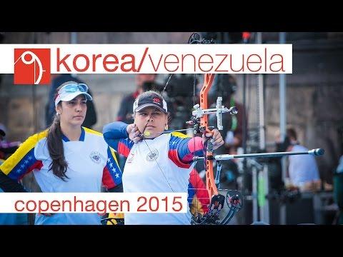 Venezuela v Korea – Compound Women's Team Bronze Final | Copenhagen 2015