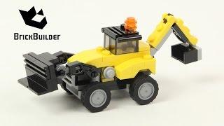 Lego Creator 31041 Construction Vehicles - Lego Speed Build