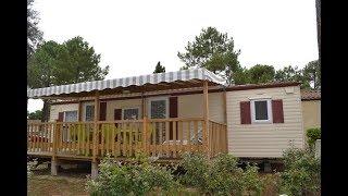 Mobil-home 386, Camping 4 étoiles La Pignade, Lovacances