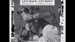 "Spazz - Left Back / Let Down 2 x 7"" Comp [1995]"