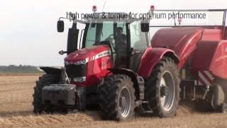 Ciągniki rolnicze MASSEY FERGUSON seria 7600 Dyna4 Dyna6 DynaVT