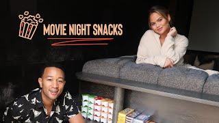Chrissy and John's 5 Favorite Movie Night Snacks
