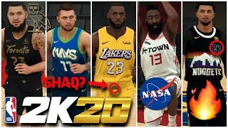 NBA 2K20   ALL-NEW NIKE CITY JERSEYS UPDATE SHOWCASE
