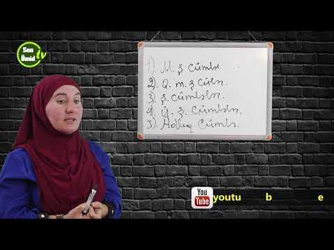 Sadə cümlənin növləri Azərbaycan dili 1-ci dərs