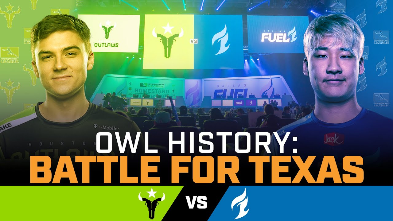 YEEHAW! It's a TEXAS Showdown!   OWL Oral History — Battle for Texas