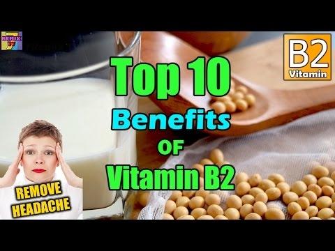 Top 10 Vitamin B2 Benefits | Riboflavin Health Benefits ♥NEW