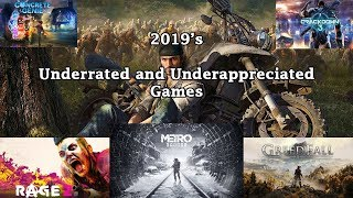 2019's Most Underrated and Underappreciated Games