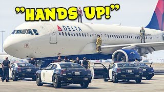 Our Plane Got SWATTED in GTA 5 Flight Simulator