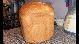Яичный хлеб в хлебопечке Panasonic