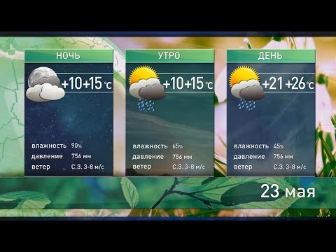 Прогноз погоды на 23 мая: лето пришло раньше календарного