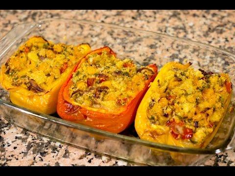 Peperoni Ripieni - Ricetta Vegan