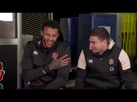 O2 Inside Line: Ben Youngs and Courtney Lawes