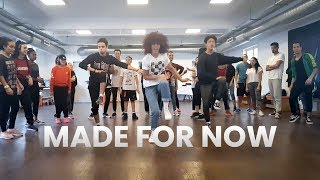 Janet Jackson X Daddy Yankee - Made For Now  Dance Chorography