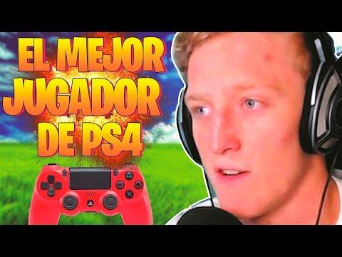 El MEJOR jugador de PS4 de FORTNITE (OFICIAL)