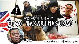 eigowakarimasen #miyachi Hello! We are just a little bit having fun...