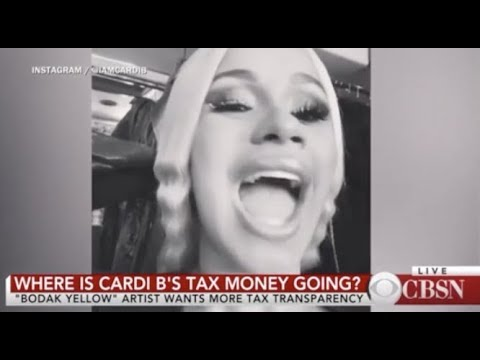 Cardi B Goes Viral After Asking Uncle Sam what they're doing with her tax shmoney🤑