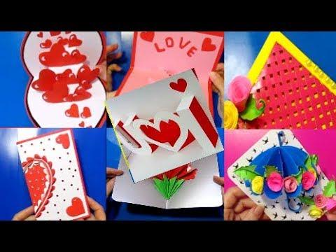 10 Романтических Открыток DIY/Сувенир-подарок на Новый год,Святого Валентина,8 марта,День рождения