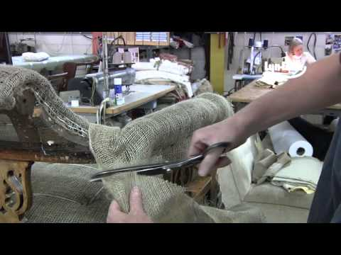The right way to reupholster a French style Sofa  by