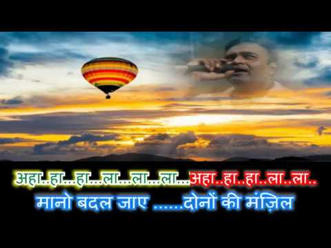 ye mera jeevan tere liye hai karaoke with female voice by Rajesh Gupta