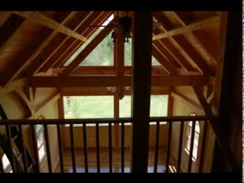 Asheville timber frame homes asheville custom post for Custom a frame homes