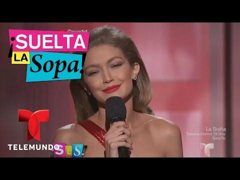 Suelta La Sopa | La modelo Gigi Hadid se burló de Melania Trump | Entretenimiento