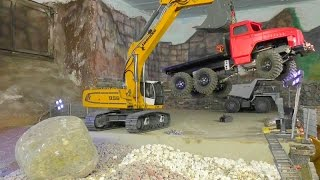 RC MACHINES!  AWESOME WORK l RC URAL l RC EXCAVATOR l RC EARTH MOVER!