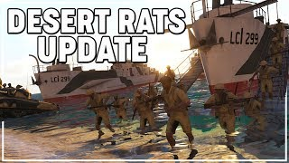 Iron Front DESERT RATS UPDATE Overview | ArmA 3 Mod Review