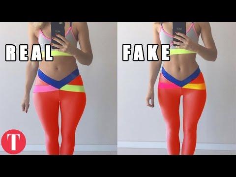 10 Fake Instagram Fitness Model Tricks Exposed