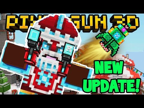 LIVE! - PIXEL GUN 3D CHRISTMAS UPDATE! w/Subscribers! - COME JOIN!