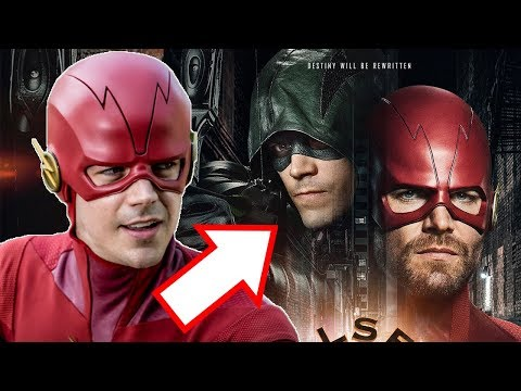 Barry Allen is Green Arrow! Oliver Queen is The Flash! WTF is this Elseworlds Crossover?!