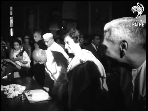 Kamaraj makes Indira Gandhi Prime Minister in 1967