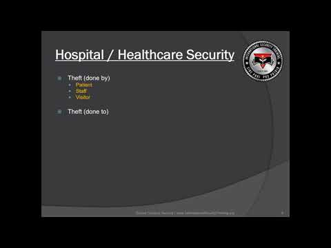 Hospital Security Facts | Healthcare Management | Executive Protection | Training Course
