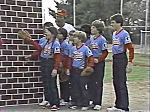 The Baseball Bunch - Fielding - Ozzie Smith - Gary Carter - Graig Nettles - FULL Video 1986