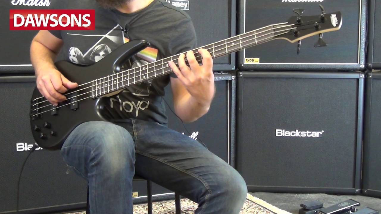 Ibanez GSR200B-WK Spot Run Bass Guitar Review - YouTube