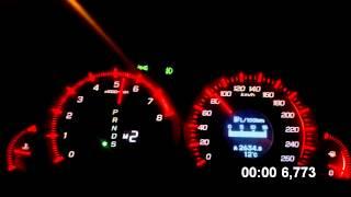 Honda Accord 8 разгон 0-100 2.4 автомат Type-S (сток)
