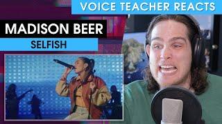 Voice Teacher Reacts to Madison Beer - Selfish