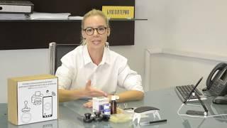 Мини комплект для изготовления печатей и штампов GRM StampMaker mini в офисе для хобби дома