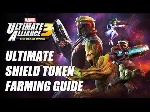 Ultimate Shield Tokens Farming Guide - Marvel Ultimate Alliance 3 (MUA3)