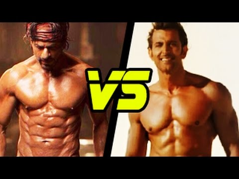 shahrukh khan 39 s abs in happy new year v s hrithik roshan 39 s. Black Bedroom Furniture Sets. Home Design Ideas