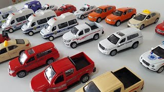 A LOT OF TOY CARS!!!! Kids police cars with amazing sound for Kids