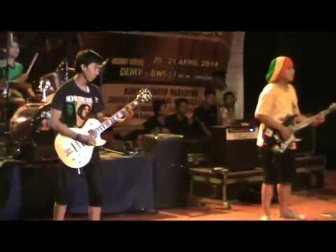 Sunshine Reggae - Hitam Putih (Cover Cozy Republic)