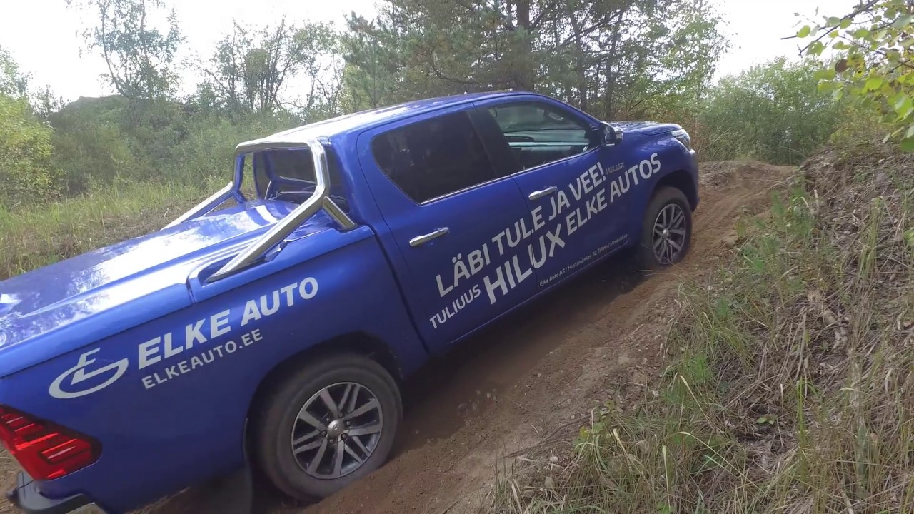 2017 Toyota Hilux Off Road Test 4k Youtube