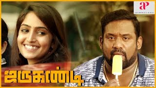 Robo Shankar Comedy Scene   Jarugandi Movie   Reba Monica intro   Jai   Daniel Annie Pope