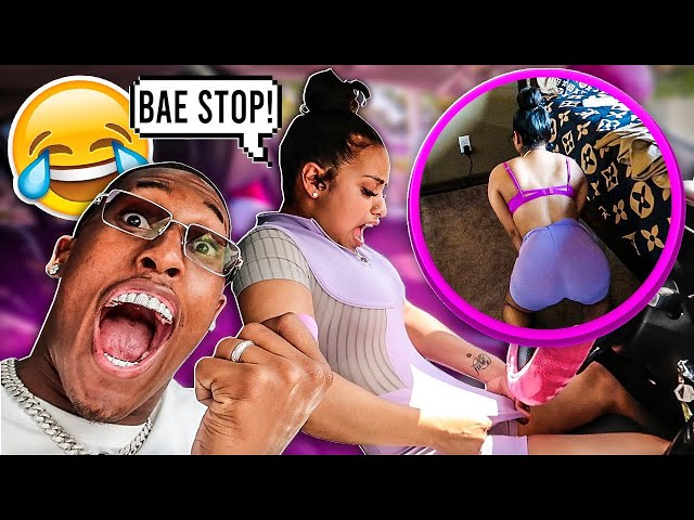 VIBRATING PANTIES PRANK ON CARMEN!!