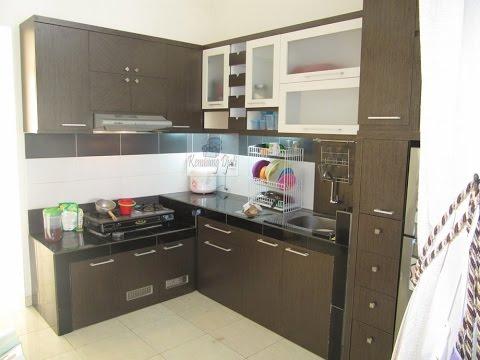 Desain Ukuran Kitchen Set