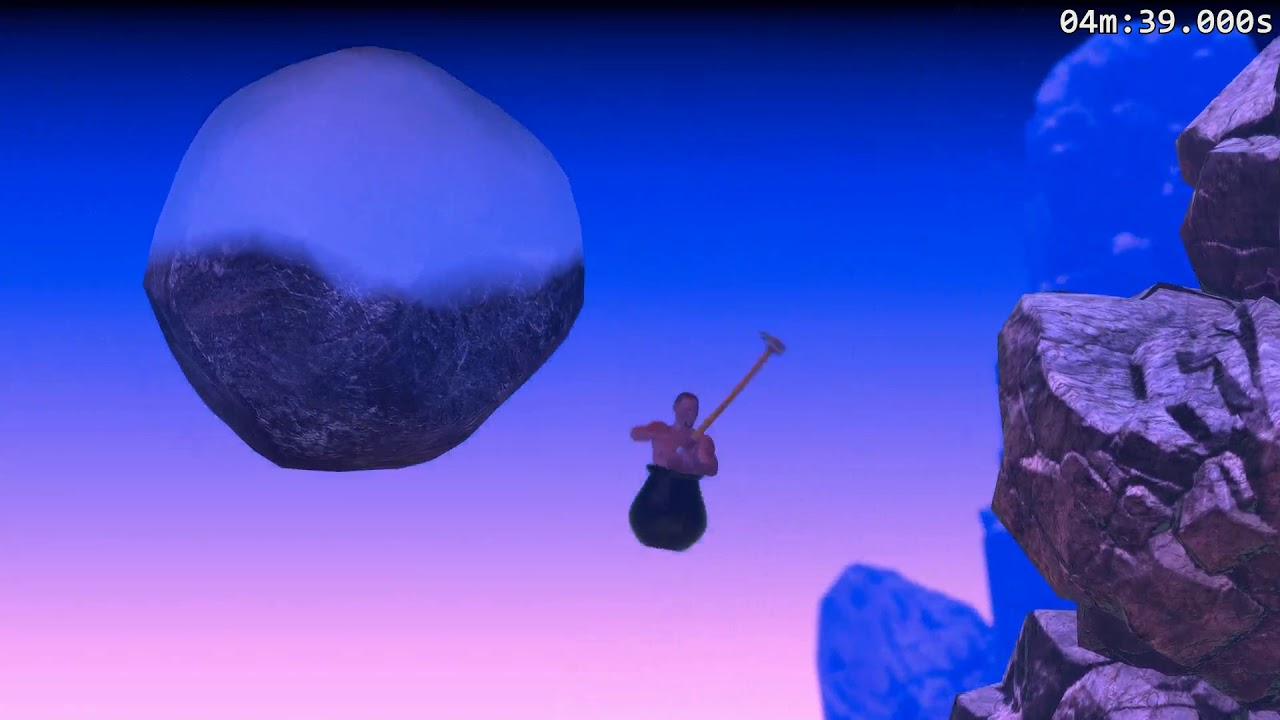 getting over it game how to get