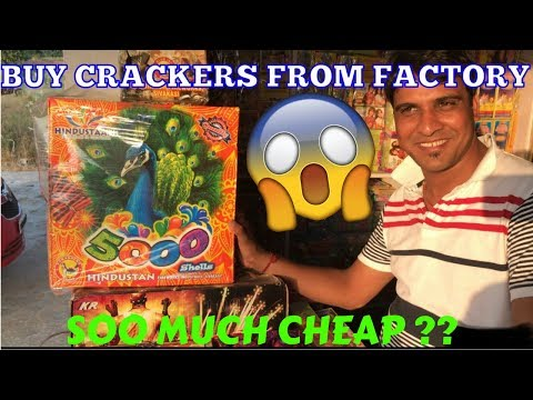 Cheapest Cracker Market/Factory In Delhi 2017| Farukh Nagar