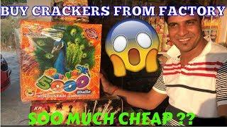 Cheapest Cracker Market/Factory In Delhi 2017| Farukh Nagar