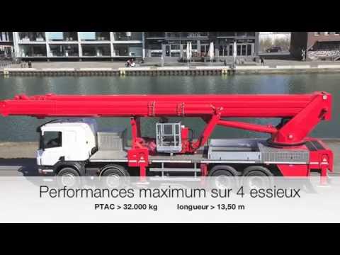 Camion-Nacelle RUTHMANN STEIGER T 720