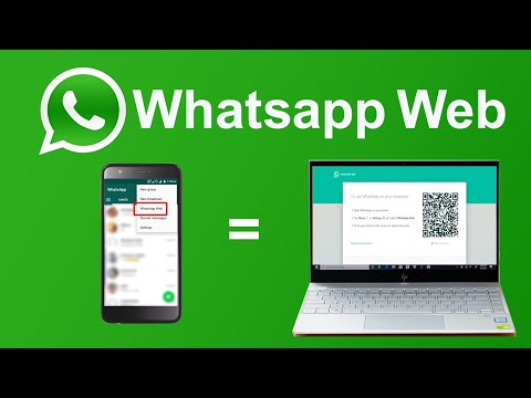 How to Use Whatsapp Web in Laptop and PC /2020